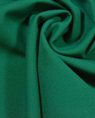 Костюмная вискозная ткань, цвет: сочный малахит арт. ГТ-364-1-ГТ0021808