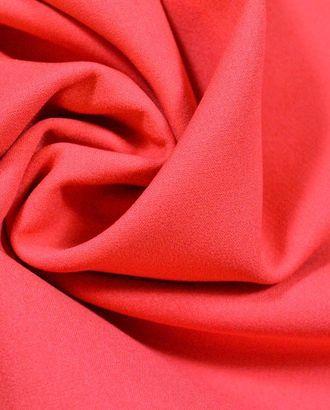Ткань костюмная креповая, морской коралл арт. ГТ-381-1-ГТ0021850