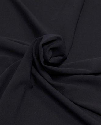 Ткань креп цвет темной ночи арт. ГТ-387-1-ГТ0021862