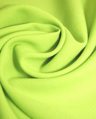 Ткань креп насыщенного салатового оттенка арт. ГТ-389-1-ГТ0021864