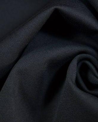 Ткань костюмная хлопковая синего цвета арт. ГТ-396-1-ГТ0021877