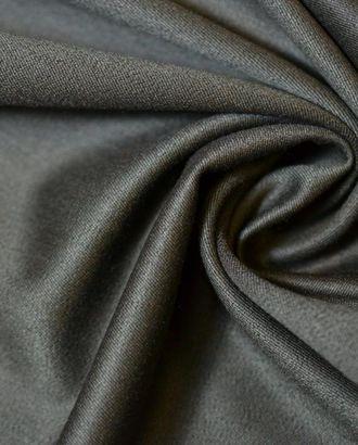 Ткань костюмная, цвет: темно-коричневый арт. ГТ-398-1-ГТ0021879