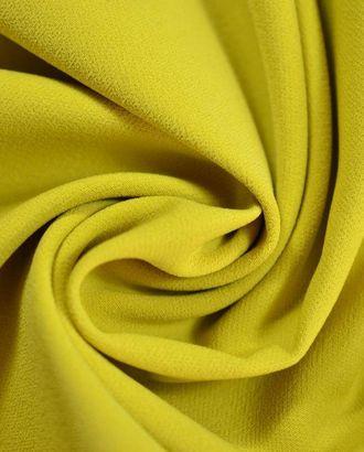 Ткань креп, цвет: горчичный арт. ГТ-404-1-ГТ0021890
