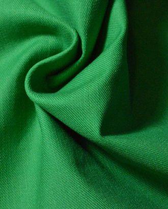 Ткань джинсовая, цвет: молодая зелень арт. ГТ-443-1-ГТ0021964