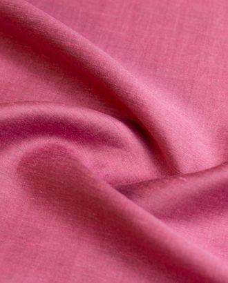 Лен костюмно-плательный 2х сторонний, цвет розовый перламутр арт. ГТ-4408-1-ГТ-22-5895-1-26-1