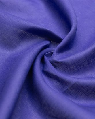 Лен костюмно-плательный 2х сторонний, цвет васильковый арт. ГТ-4424-1-ГТ-22-5915-1-30-1