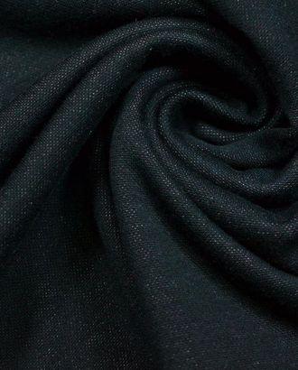 Ткань трикотажная вискозная, цвет: твидовый черный с розовым арт. ГТ-487-1-ГТ0023010