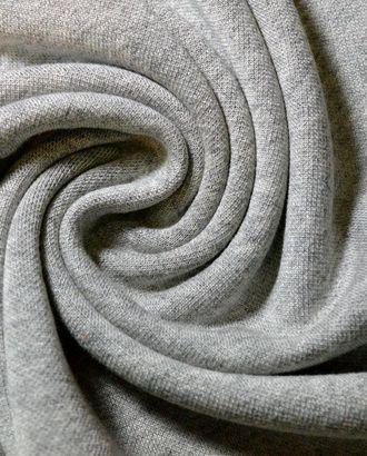Ткань трикотажная вискозная, цвет: меланжевый серый арт. ГТ-492-1-ГТ0023015