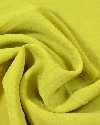 Ткань шифон, цвет: оливковый букет арт. ГТ-539-1-ГТ0023119