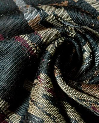 Ткань трикотажная в стиле Милитари с бордовым оттенком арт. ГТ-555-1-ГТ0023164