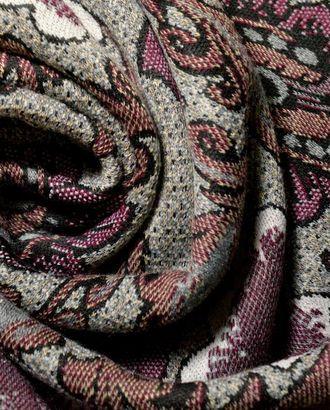 Ткань трикотажная, цвет: цветы Бразилии на меланжевом поле арт. ГТ-565-1-ГТ0023174