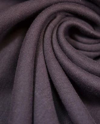 Ткань трикотаж, цвет: темно-лиловый арт. ГТ-640-1-ГТ0023841