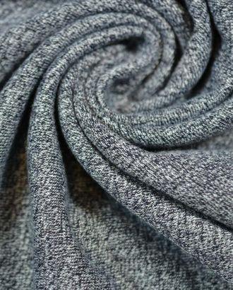Ткань трикотаж , цвет: синий меланж арт. ГТ-648-1-ГТ0023849