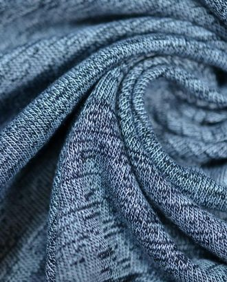 Ткань трикотаж,  серо-черный меланж арт. ГТ-649-1-ГТ0023850