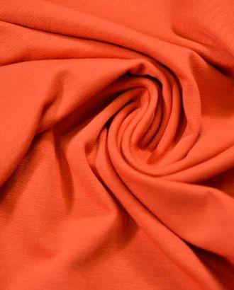 Трикотажная ткань тицианового цвета арт. ГТ-762-1-ГТ0024724