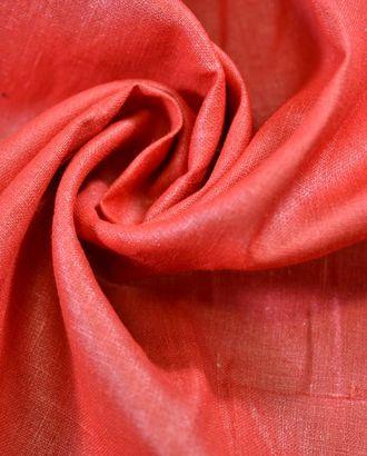Ткань льняная гранатового цвета арт. ГТ-764-1-ГТ0024863