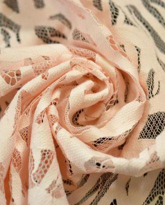 Ткань гипюр светло-абрикосового цвета арт. ГТ-775-1-ГТ0024927