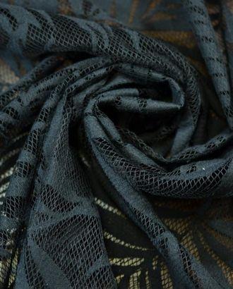 Оригинальный итальянский гипюр черного цвета арт. ГТ-776-1-ГТ0024928