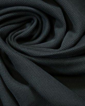 Ткань трикотаж, черная вуаль арт. ГТ-781-1-ГТ0024942