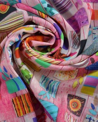 Штапель, с имитацией цветного печворка арт. ГТ-794-1-ГТ0025127