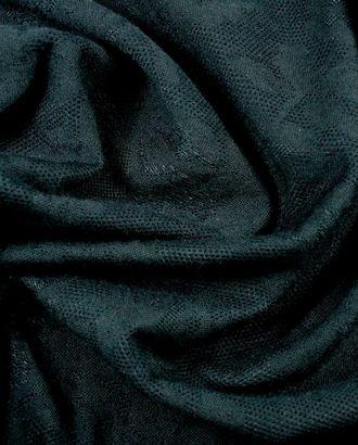 Ткань трикотаж, цвет: муарово-черный арт. ГТ-838-1-ГТ0025974