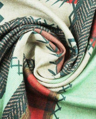 Ткань трикотаж, пестрый геометрический узор арт. ГТ-857-1-ГТ0026218