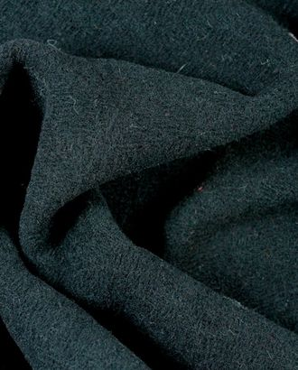 Угольно-черная шерстяная пальтовая ткань арт. ГТ-899-1-ГТ0026776
