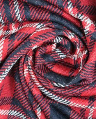 Трикотаж , сине-красно-белая клетка арт. ГТ-905-1-ГТ0026797