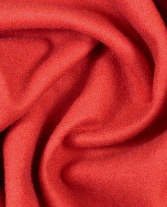 Ткань пальтовая яркого кораллового цвета арт. ГТ-924-1-ГТ0026985
