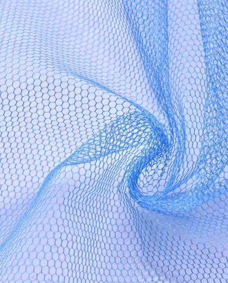 Фатин крупная сетка насыщенного синего цвета арт. ГТ-947-1-ГТ0027491