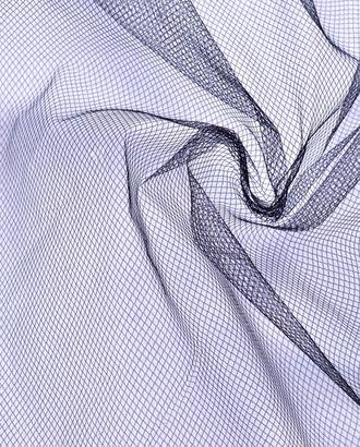 Фатин мягкий черного цвета мелкая сетка арт. ГТ-949-1-ГТ0027500