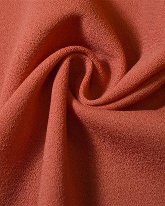 Ткань костюмная, креповый цвета оранжевой пастели арт. ГТ-1000-1-ГТ0027640