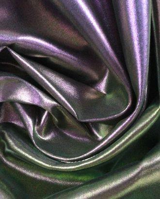 Шелковая ткань лиловый шар цвета хамелеон арт. ГТ-1007-1-ГТ0027703