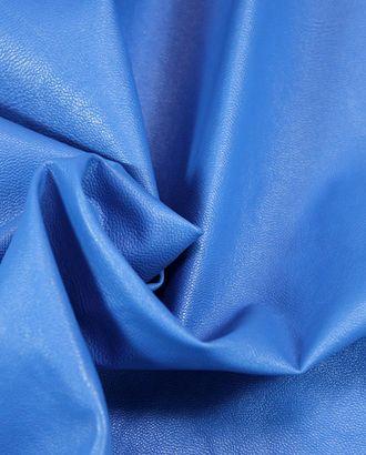 Экокожа ослепительно-синего цвета арт. ГТ-1037-1-ГТ0027958