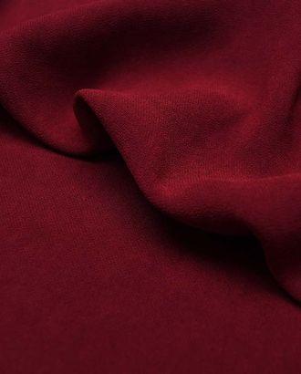 Ткань плательная однотонная бордового цвета арт. ГТ-4377-1-ГТ-28-4781-1-5-1