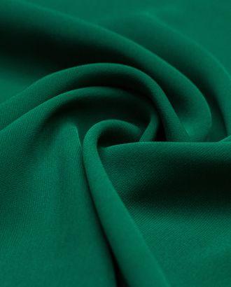 Ткань плательная Кади темно-изумрудного цвета арт. ГТ-4232-1-ГТ-28-5736-1-12-1