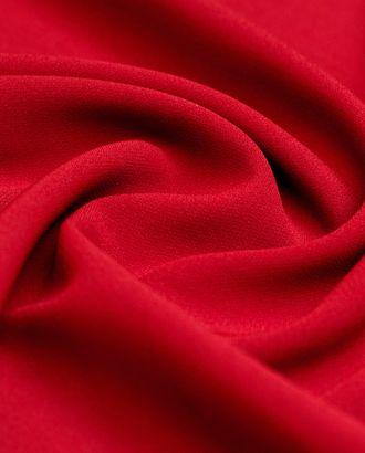 """Ткань плательная """"Кади"""" красного цвета арт. ГТ-4249-1-ГТ-28-5753-1-16-1"""