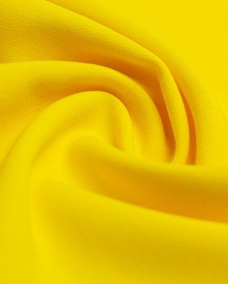Ткань плательная Кади, цвет насыщено желтый арт. ГТ-4261-1-ГТ-28-5767-1-9-1