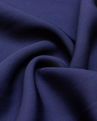 Вискозная плательная ткань темно-синего цвета арт. ГТ-4322-1-ГТ-28-5833-1-30-1
