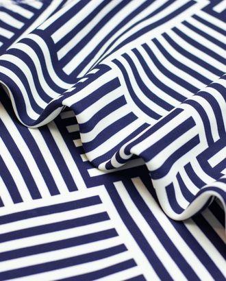 Ткань плательная с геометрическим принтом арт. ГТ-4403-1-ГТ-28-5890-14-21-1