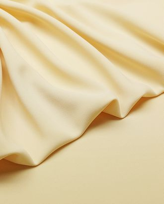 """Ткань плательная """"Кади"""" золотисто-бежевого цвета арт. ГТ-4823-1-ГТ-28-6460-1-1-1"""