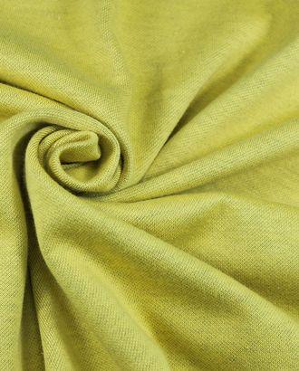 Трикотаж х/б двухсторонний желто-синего цвета арт. ГТ-1045-1-ГТ0028058