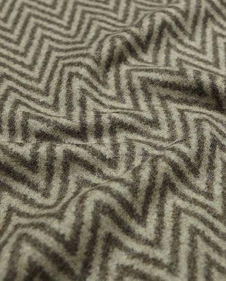 Ткань пальтовая, серо-коричневая елочка арт. ГТ-1102-1-ГТ0028374