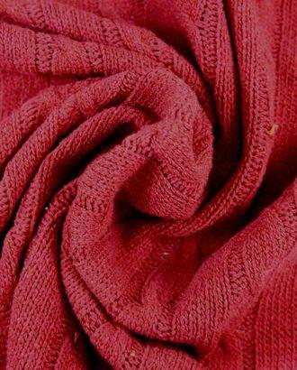 Шерстяной трикотаж брусничного цвета арт. ГТ-1132-1-ГТ0028426