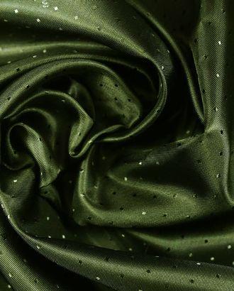 Ткань подкладочная, цвет болотный арт. ГТ-1153-1-ГТ0028479