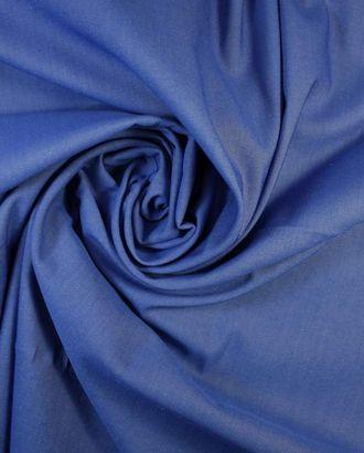 Ткань костюмная двухсторонняя серо-синего цвета арт. ГТ-1269-1-ГТ0030191