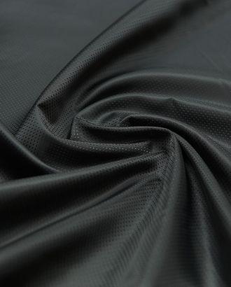 Жаккардовая подкладочная ткань в мелкий горох, цвет черный арт. ГТ-4811-1-ГТ-31-6430-9-38-1