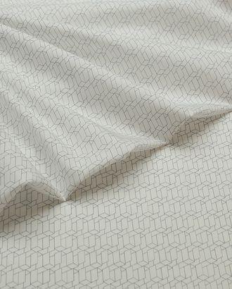 Рубашечная ткань с геометрическим принтом 3D арт. ГТ-3467-1-ГТ0000034