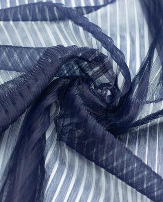 Плиссированный фатин, цвет темно-синий арт. ГТ-4496-1-ГТ-37-5999-1-30-1
