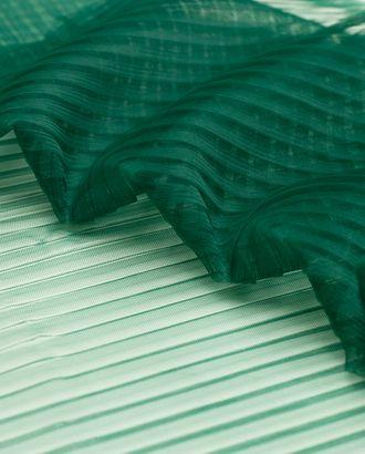 Плиссированный фатин, изумрудного цвета арт. ГТ-4498-1-ГТ-37-6001-1-10-1
